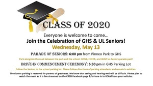 LIVE STREAM LINK FOR GLN & USL GRADUATION