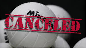 Volleyball Tourney Cancelled