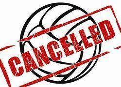 Vball cancelled