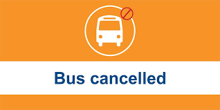 Bus Cancelled