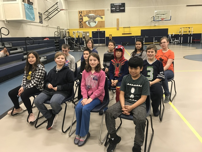 Kenny Lake Spelling Bee Participants
