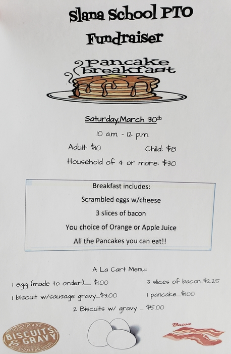 Pancake Feed Flyer